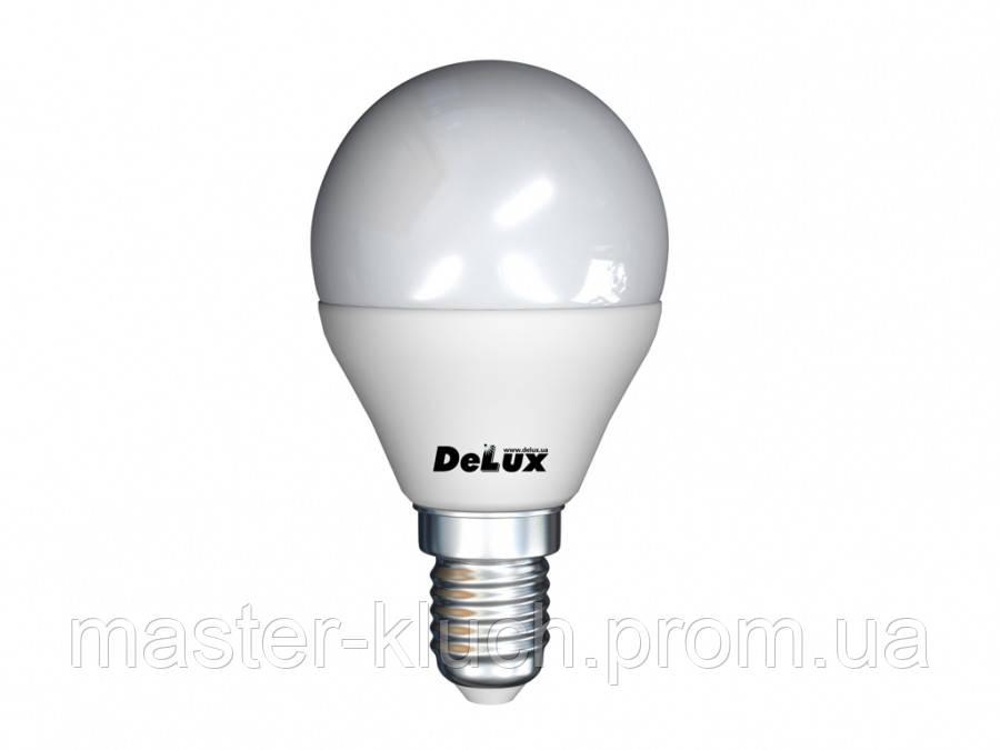 Светодиодная лампа DELUX LED BL50P Е14 7W 2700K шарик