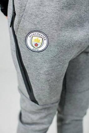 Штаны Nike Manchester City FC Tech Fleece Joggers AA1937-095 (Оригинал), фото 2