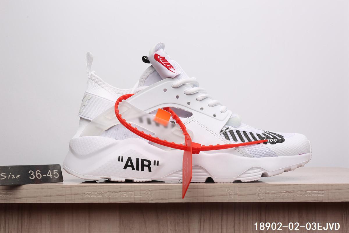 Кроссовки Nike Air Huarache х Off White найк аир хуараче мужские женские  реплика - Интернет- 218af9dde95