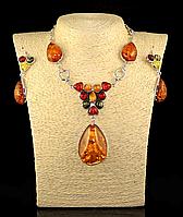 """Набор из янтарной смолы """"Юдина  """" , фото 1"""