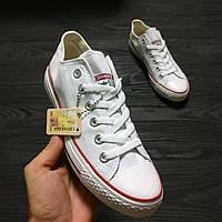 Кеды Converse All Star Женские конверс - original (конверсы низкие белые)