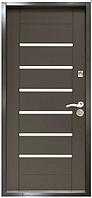 Дверь метал. ТМ Riccardi 2050х960 Лагуна лев. Венге