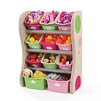 """Органайзер с разноцветными ящиками """"FUN TIME ROOM ORGANIZER"""", розовый/салатовый, фото 1"""