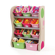 """Органайзер с разноцветными ящиками """"FUN TIME ROOM ORGANIZER"""", розовый/салатовый"""