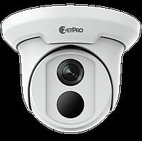 Видеокамера купольная ZetPro ZIP-3612ER3-PF28-B