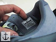 Мужские кроссовки Nike Zoom Live серые топ реплика, фото 3