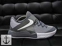 Мужские кроссовки Nike Zoom Live серые топ реплика