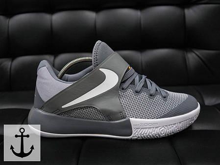 Мужские кроссовки Nike Zoom Live серые топ реплика, фото 2