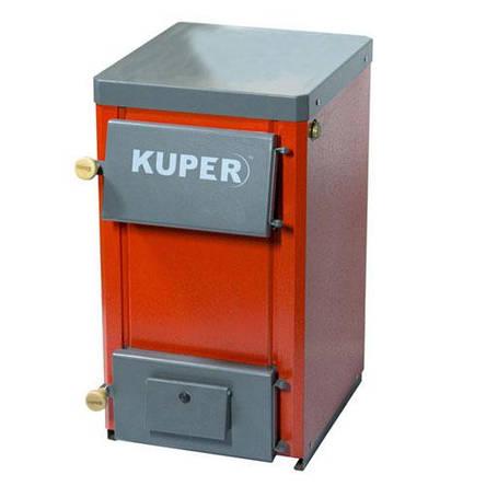 """Твердопаливний котел """"Kuper-15 Люкс"""" на дровах і вугіллі, фото 2"""