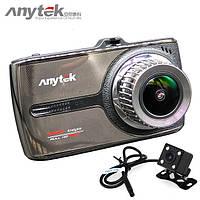 Видеорегистратор Anytek G66 WDR(2 камеры)