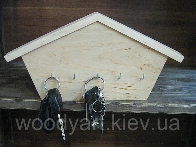 Ключница домик, ключница деревянная