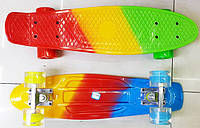Скейт с металлическими креплениями