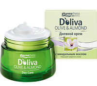 D'Oliva Дневной крем для лица с миндальным маслом, 50 мл