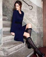 Платье с расширенной юбкой + воротник-хомут Philippe Matignon, р. S/М