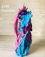 Уникальная свеча ELITE CANDLES стильный дизайн, неповторимый узор
