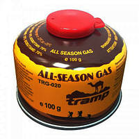 Баллон газовый резьбовой 100г Tramp TRG-020