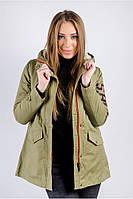 Куртка, парка женская на меху 763K001