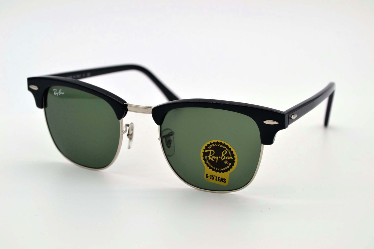 Солнцезащитные очки Ray Ban 3016 Clubmaster.901.3n - LOFOPTIC - Очки,  Оправы, 145880cbefe