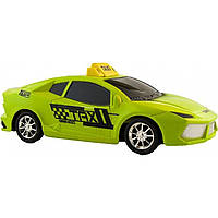 Машина инерция Такси / Полиция 1211A-2A