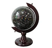 Глобус – ночное небо из полудрагоценного камня топаз