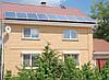 Монтаж солнечных станций на доме