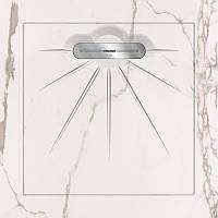 Керамический поддон для душа с сифоном Infinity, 90х90см Aquanit