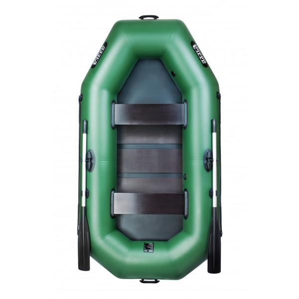 Надувная лодка Ладья Лт-250 двухместная гребная