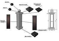 Формы балясин и элементов балюстрады из АБС и ПВХ пластика Будформа