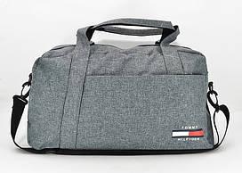 Сумка дорожная спортивная текстильная джинсовая 1220-10
