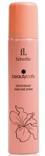 Парфюмированный дезодорант спрей для тела Beauty Cafe, Faberlic, Бьюти Кафе, Фаберлик, 75 мл, 3501