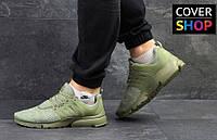 Кроссовки мужские Nike Air Presto для спорта и туризма, материал - сетка, цвет - оливковый