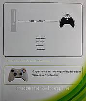 Джойстик бездротовий X-360 For PS3/PC/ANDROID білий, фото 3