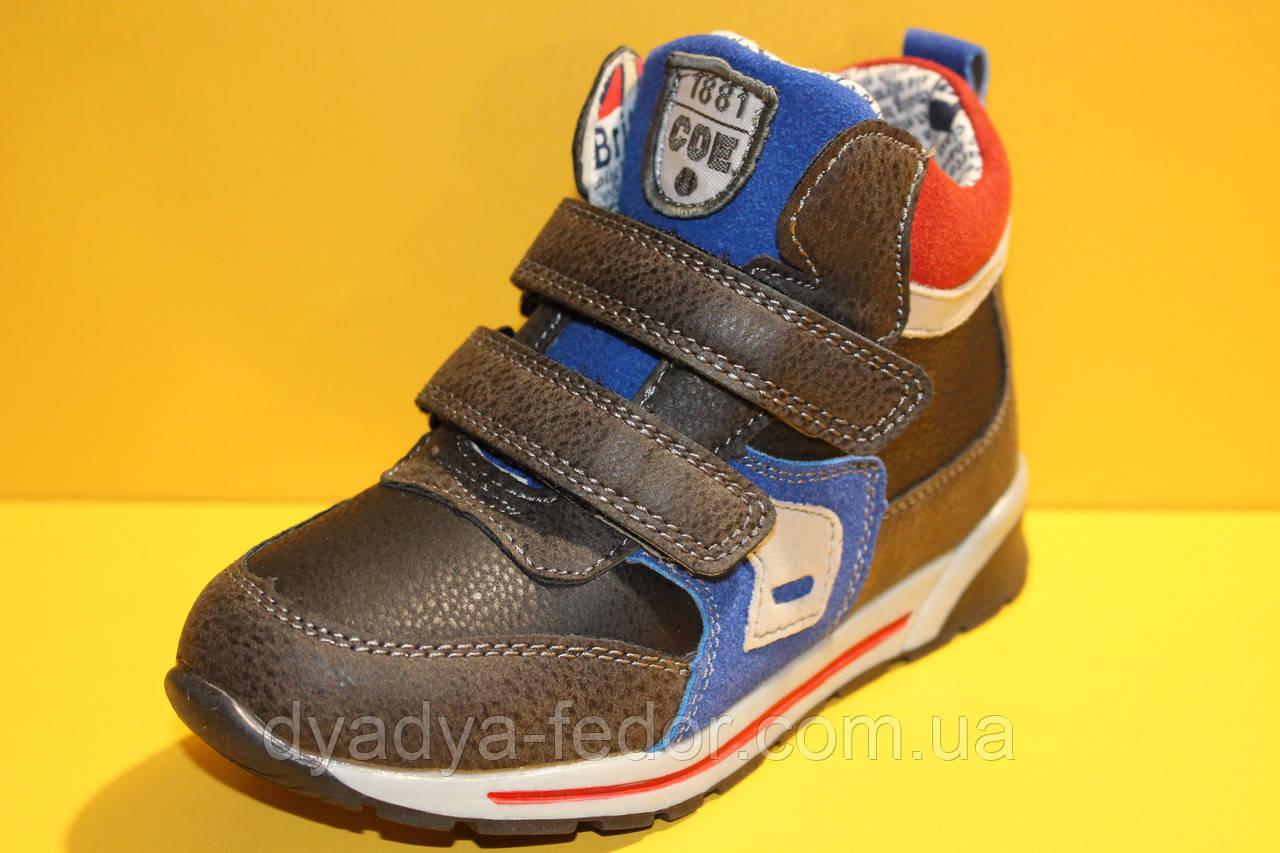 04aa26661 Детские Демисезонные Ботинки для Мальчика ТМ Солнце Pt83 Размеры 29 ...