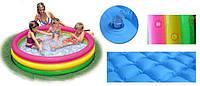 Intex 57422 (147 х 33 см.) надувной детский бассейн