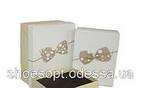 Декоративные подарочные коробки набор 3шт 24х19х11 см
