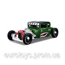 MAISTO Автомодель (1:24) 1929 Ford Model A зелёный - тюнинг