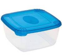 Судок пищевой  (пластмасс) 170х170х83мм — 1,5л 1676
