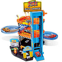 Игровой набор Паркинг 1:43 3 уровня, 2 машинка  Bburago (18-30361)