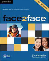 Face2face /Second Edition/ Pre-int WB with Key