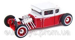 MAISTO Автомодель (1:24) 1929 Ford Model A красно-белый - тюнинг