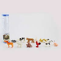 Животные дикие / домашние, 12 шт 9689-12