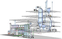 Оборудование по производству сухого молока, распылительная сушилка