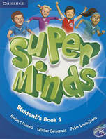 Super Minds 1 Student's Book with DVD-ROM including Lessons Plus for Ukraine