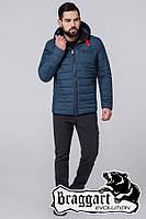 """Куртка мужская демисезонная Braggart  """"Evolution"""" (тёмно-бирюзовая)"""