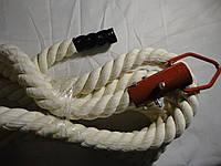 Канат в спортзал для лазанья диаметром 45 мм., длиной 3,5 м.