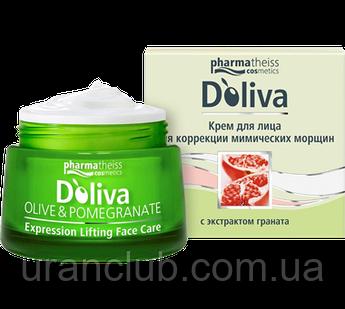 D'Oliva Крем для лица для коррекции мимических морщин, 50 мл