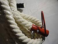 Канат для лазанья для спортзала диаметром 45 мм., длиной 5 м.