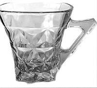 Набор стеклянных чашек 6 шт, 120 мл