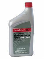 Трансмиссионное масло HONDA ATF-DW1 для АКПП 0,946L, USA Honda 082009008