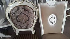 Обеденный комплект Неаполь 1+6 (молочный с патиной), фото 3